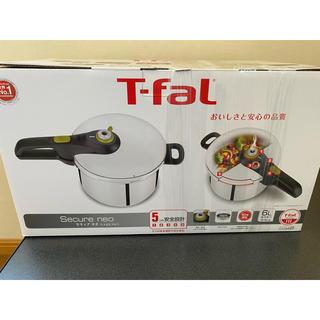 ティファール(T-fal)のティファール 圧力鍋 セキュア ネオ 6L(鍋/フライパン)