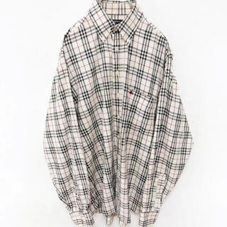 BURBERRY - バーバリー BDチェックシャツ M