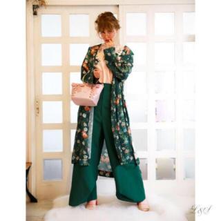 ファーファー(fur fur)の新垣結衣着用 カラーワイドパンツ(カジュアルパンツ)