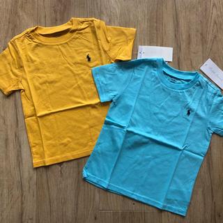 Ralph Lauren - ラルフローレン 2枚 Tシャツ マスタード 水色