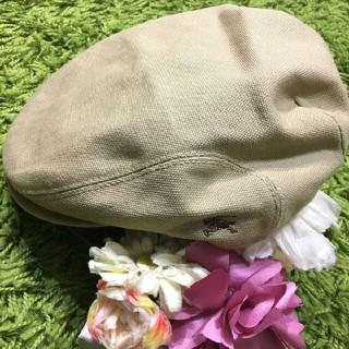 BURBERRY - burberryバーバリーブルーレーベル レディベレー帽