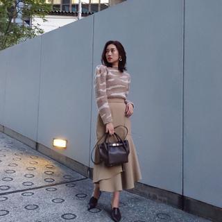 rienda - rienda ダブルラップマーメイドスカート