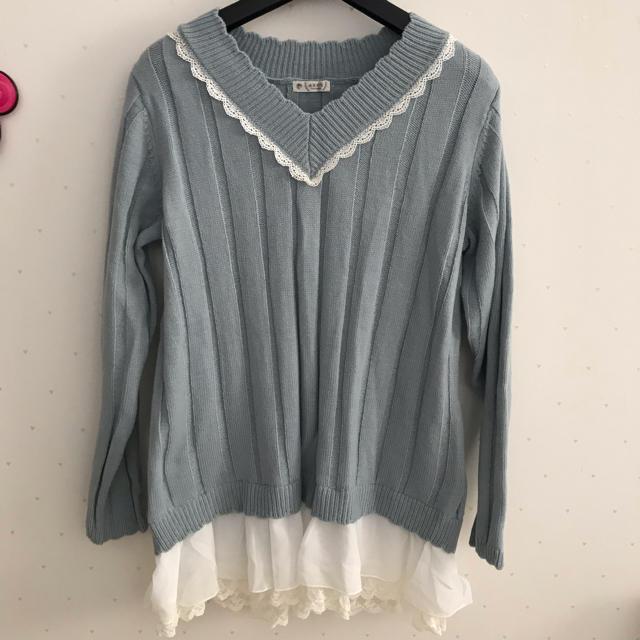 axes femme(アクシーズファム)のニット レディースのトップス(ニット/セーター)の商品写真