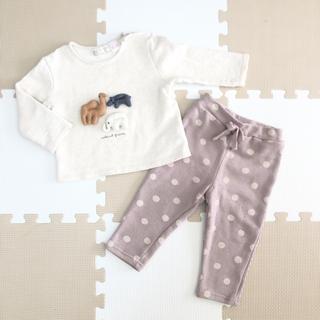 futafuta - テータテート Zara baby 子ども服 80cm 2点セット