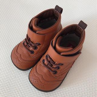 ミキハウス(mikihouse)の★美品★ミキハウス  皮ブーツ 13㌢(ブーツ)