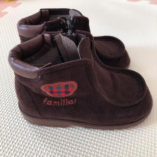 ファミリア(familiar)のファミリア スエード調ブーツ 14.5(ブーツ)