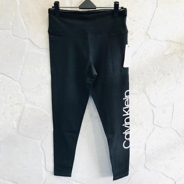 Calvin Klein(カルバンクライン)の 新品未使用 Calvin Klein Performance ロゴ レギンス レディースのレッグウェア(レギンス/スパッツ)の商品写真