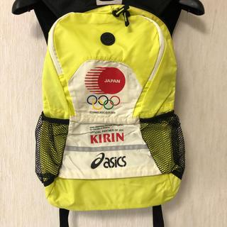 asics - 2004アテネ五輪 asics日本代表 ランニングリュックJAPAN KIRIN