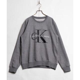カルバンクライン(Calvin Klein)のCalvin Klein Logo Sweat ロゴ スウェット グレー(スウェット)