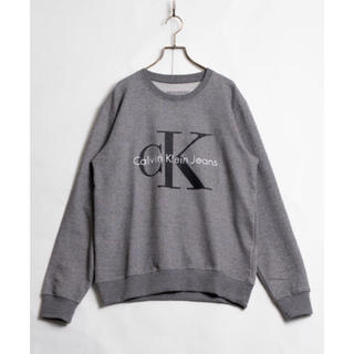 Calvin Klein - Calvin Klein Logo Sweat ロゴ スウェット グレー