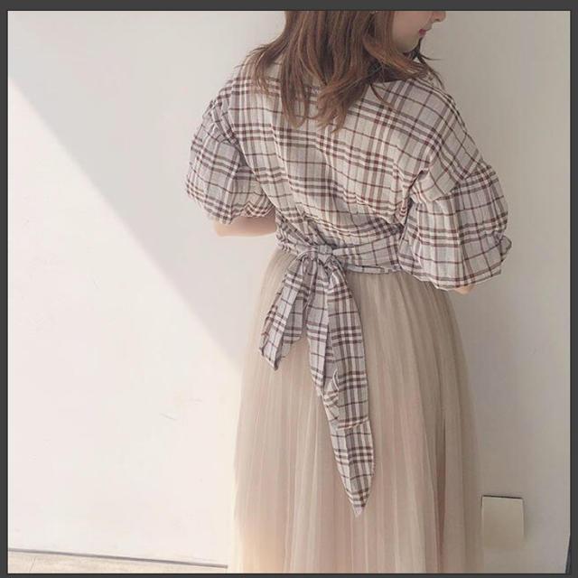 one after another NICE CLAUP(ワンアフターアナザーナイスクラップ)のFrunco チュールスカート レディースのスカート(ロングスカート)の商品写真