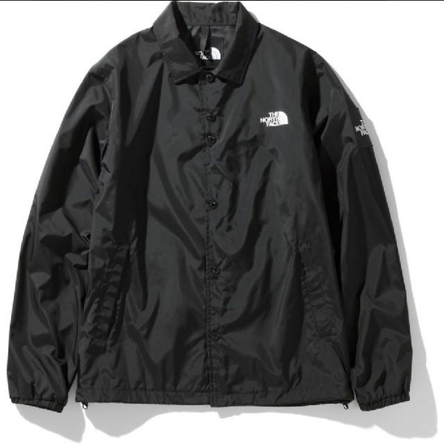 THE NORTH FACE(ザノースフェイス)の★新品★ノースフェイス コーチジャケット L ブラック メンズのジャケット/アウター(ナイロンジャケット)の商品写真