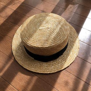 スタディオクリップ(STUDIO CLIP)のスタジオクリップ カンカン帽(麦わら帽子/ストローハット)