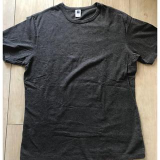 ギャップ(GAP)のGAP ギャップ メンズ Tシャツ L グレー 半袖 ストレッチ 無印良品(Tシャツ/カットソー(半袖/袖なし))