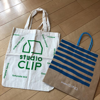 スタディオクリップ(STUDIO CLIP)のスタディオクリップ ショップ袋(ショップ袋)