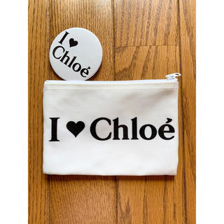 クロエ(Chloe)のI❤︎chloe アイラブクロエ♡ポーチ バッヂ(ポーチ)