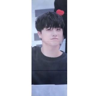 アイコン(iKON)のiKON ジナン JINHWAN スローガン(アイドルグッズ)