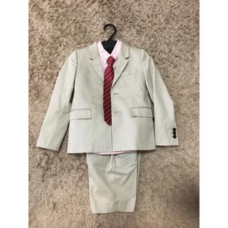 BURBERRY - バーバリー 子供用 スーツ 128cm シャツ、ネクタイ コムサ セット