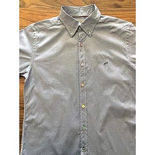 ユナイテッドアローズ(UNITED ARROWS)の【UNITED ARROWS】メンズブランドコットンシャツ七分袖 XL(シャツ)