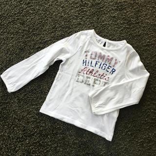 トミーヒルフィガー(TOMMY HILFIGER)のトミーヒルフィガー  ロンT ☆ 長袖 100〜110(Tシャツ/カットソー)