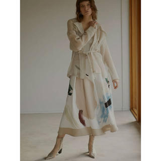 Ameri VINTAGE - MARY PAINTING FLARE SKIRT アメリヴィンテージ