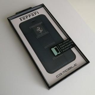 フェラーリ(Ferrari)の新品フェラーリ公式 iPhoneカバー 本革手帳型 レザーケース(iPhoneケース)