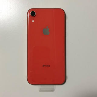iPhone - iPhone XR 128GB  コーラル docomo  SIMフリー
