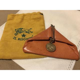 IL BISONTE - 期間限定価格 人気のヌメ革 イルビゾンテ 正規品 イタリアンレザー コインケース