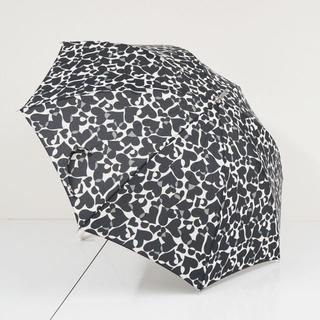 クリニーク(CLINIQUE)のCLINIQUE クリニーク 晴雨兼用傘 USED超美品 モノトーン ハート(傘)