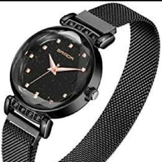 腕時計 レディース 時計 クオーツ 日本製 ダイヤモンド文字盤(腕時計)