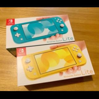 ニンテンドースイッチ(Nintendo Switch)のニンテンドースイッチ ライト イエロー&ターコイズ(家庭用ゲーム機本体)