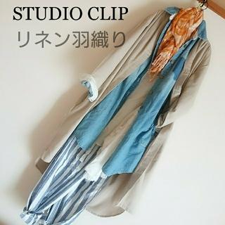 スタディオクリップ(STUDIO CLIP)のstudioCLIP リネン アシンメトリー アンティカ好きにも(ロングワンピース/マキシワンピース)