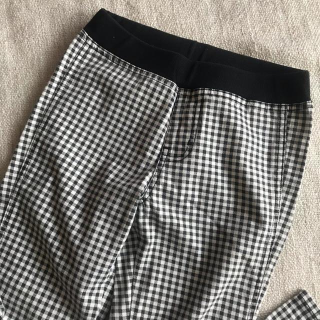 UNIQLO(ユニクロ)のギンガムチェックパンツ☆ キッズ/ベビー/マタニティのキッズ服女の子用(90cm~)(パンツ/スパッツ)の商品写真