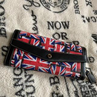 マウジー(moussy)のBLACK BY MOUSSY 長財布 イギリス マウジー 大容量 ファスナー(財布)
