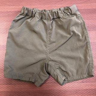 MUJI (無印良品) - 無印良品 ショートパンツ 90cm