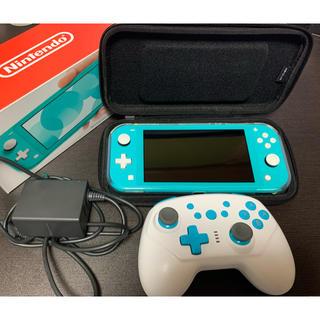 ニンテンドースイッチ(Nintendo Switch)のSwitch Lite 本体+おまけ(家庭用ゲーム機本体)