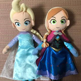 アナトユキノジョオウ(アナと雪の女王)のアナと雪の女王 アナ雪2 エルサ アナ ぬいぐるみ ディズニー(キャラクターグッズ)