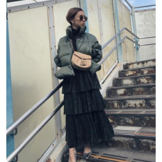 Ameri VINTAGE - アメリヴィンテージ PLEATS TIERED SKIRT