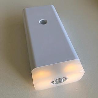ツインバード(TWINBIRD)のTWINBIRD 停電センサー LEDサーチ&ナイトライト 2個(蛍光灯/電球)