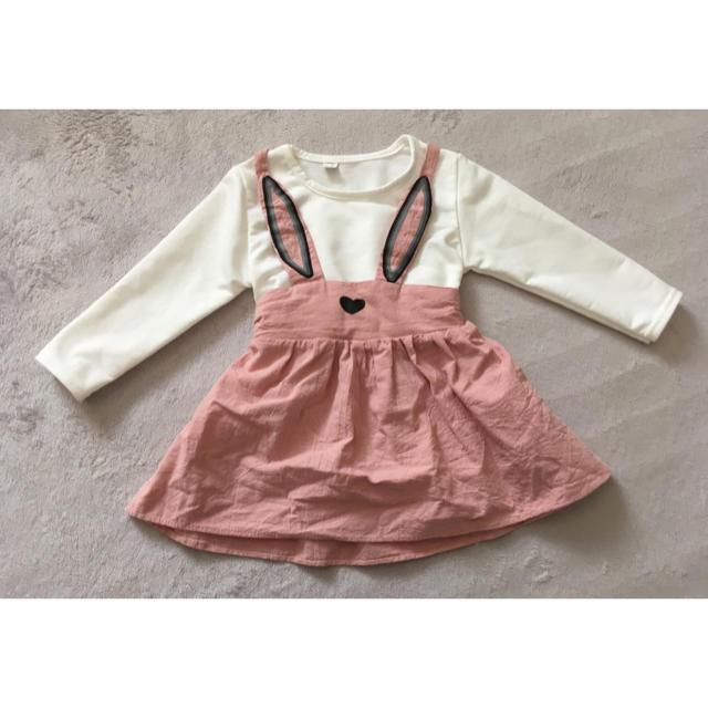 うさぎ ベビー服 キッズ/ベビー/マタニティのベビー服(~85cm)(その他)の商品写真