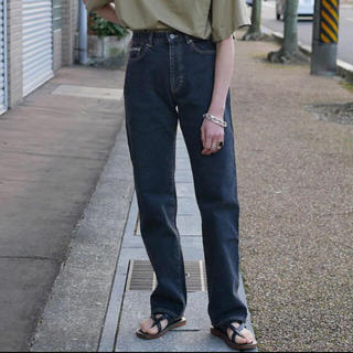 Fabiane Roux - フミカウチダ fumikauchida  デニム ブラック 36 美品