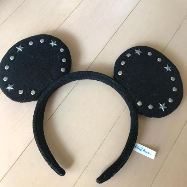 Disney(ディズニー)のディズニー ミッキーカチューシャ レディースのヘアアクセサリー(カチューシャ)の商品写真