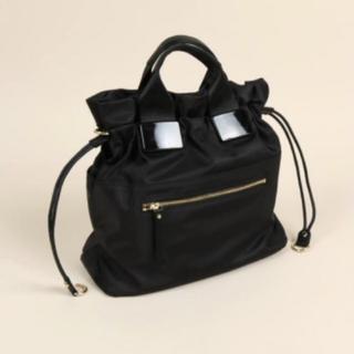 SCOT CLUB -  nouer最新作フロントデザイン3WAYナイロン巾着バッグ新品