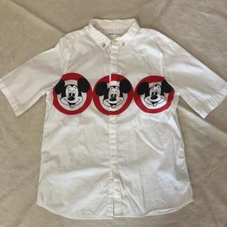 フィス(FITH)のFITH ミッキーコラボ シャツ 130(ブラウス)