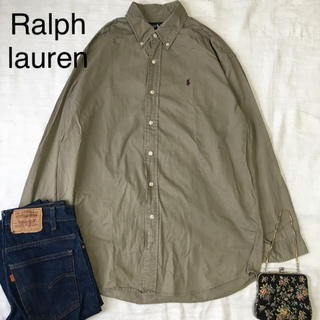 POLO RALPH LAUREN - vintage Ralph lauren ラルフローレン  シャツ ビッグサイズ