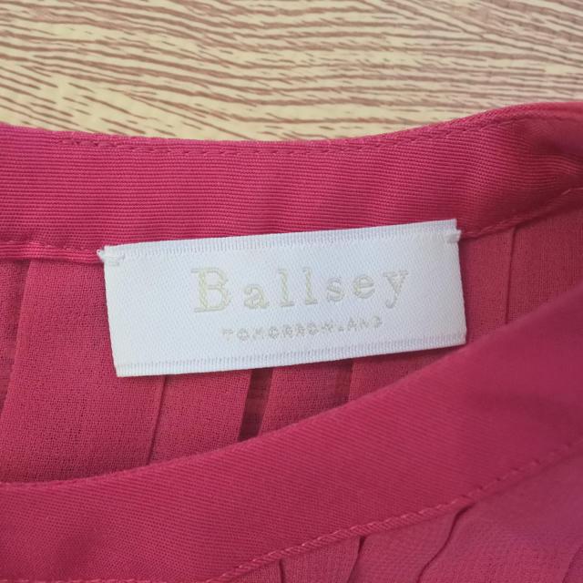 TOMORROWLAND(トゥモローランド)のトゥモローランドのカラートップス! レディースのトップス(シャツ/ブラウス(半袖/袖なし))の商品写真