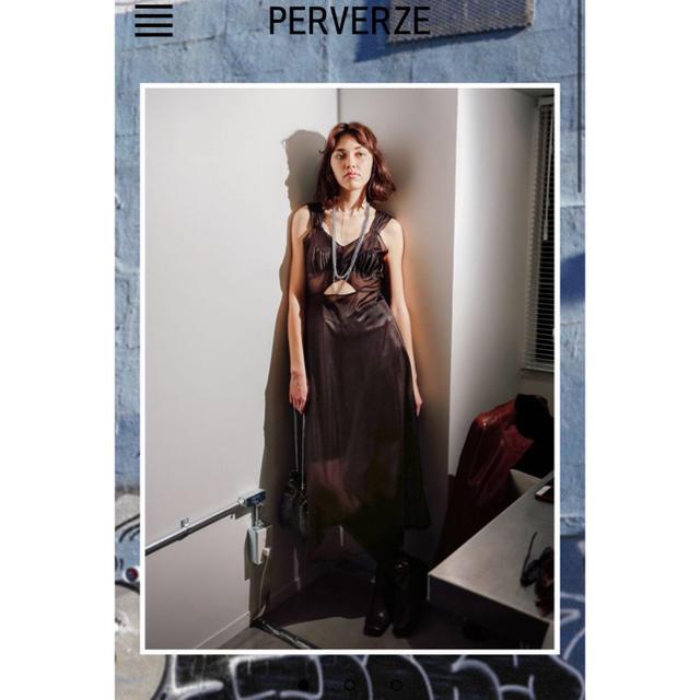 BEAUTY&YOUTH UNITED ARROWS(ビューティアンドユースユナイテッドアローズ)のperverze ドレス レディースのワンピース(ロングワンピース/マキシワンピース)の商品写真