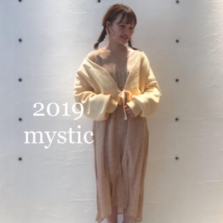 mystic - ミスティック新品タグ付き リボンカーディガン