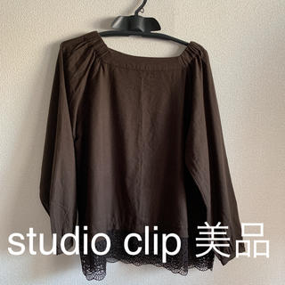 スタディオクリップ(STUDIO CLIP)のブラウス カットソー トップス スタディオクリップ(シャツ/ブラウス(長袖/七分))