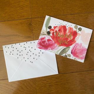 フランフラン(Francfranc)のメッセージカード 封筒 各2枚セット(カード/レター/ラッピング)